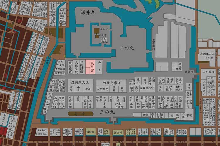 江戸時代の名古屋城郭