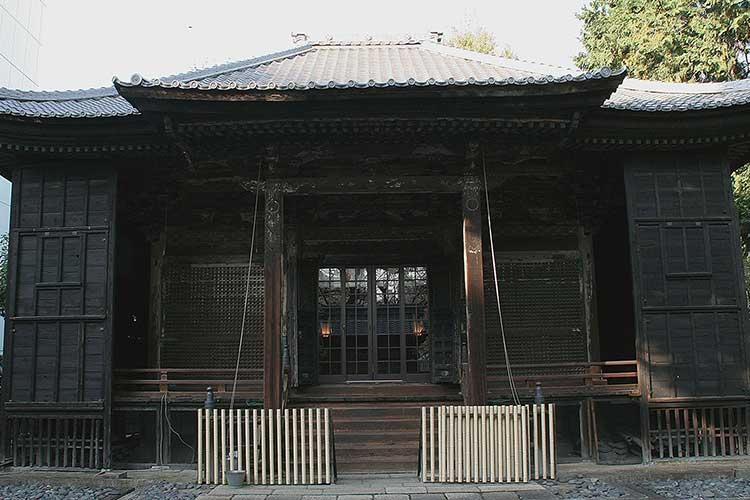 現在の東照宮社殿(春姫霊廟)