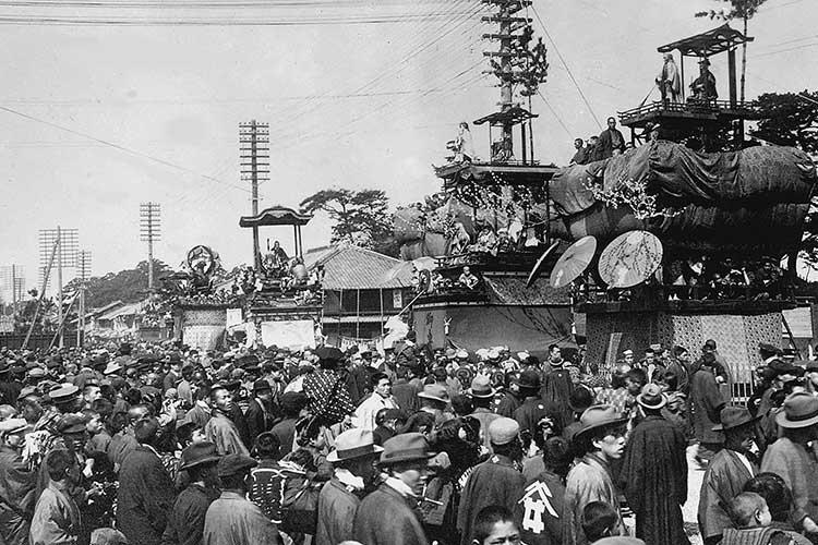 戦前の東照宮祭