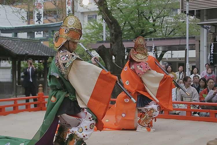 舞楽 振鉾(えんぶ)