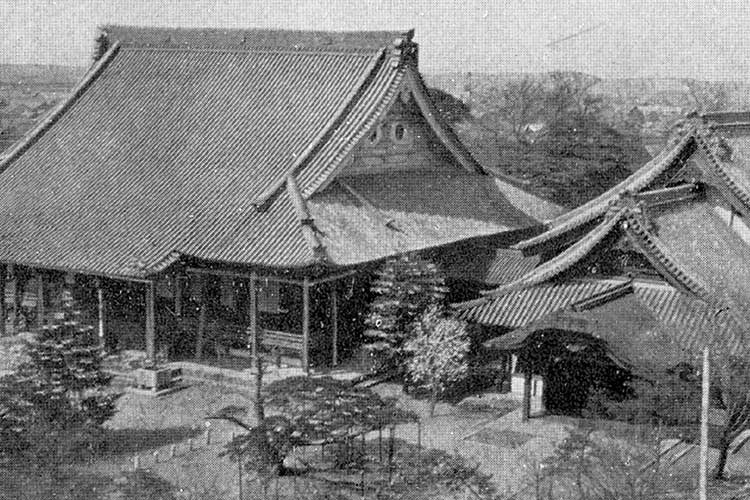 西本願寺(戦災で焼失前)