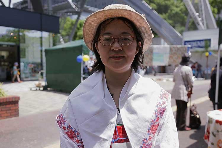 牧瀬律子さん(中部日本スウェーデン協会)