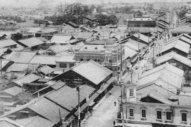 大須門前町(昭和時代初頭)