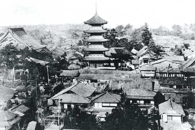 大須観音(明治時代中頃)