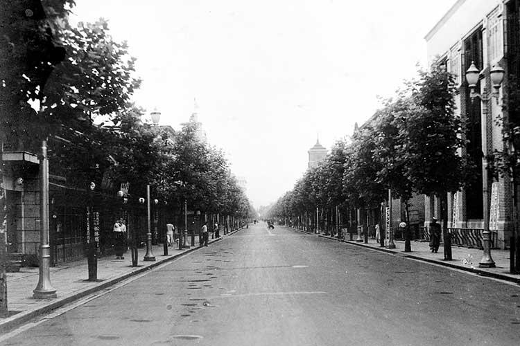 昭和時代初頭の本町通