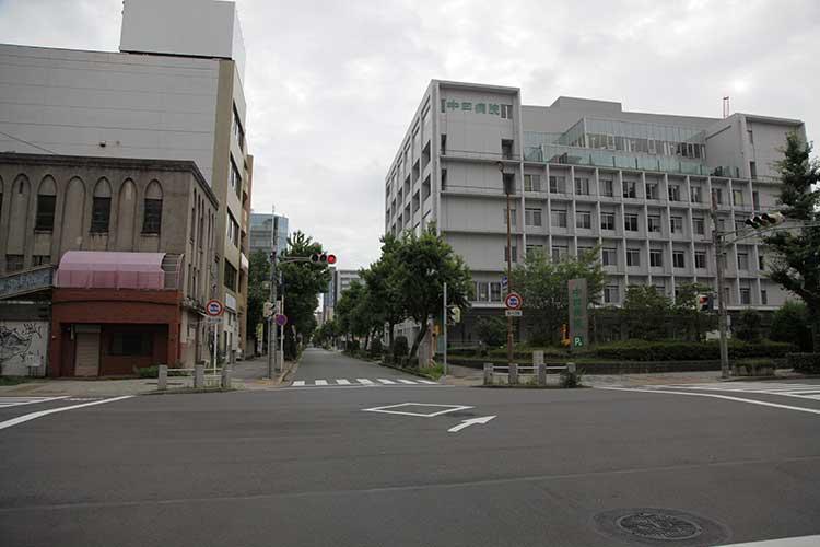 現在の京町通(新愛知新聞跡)