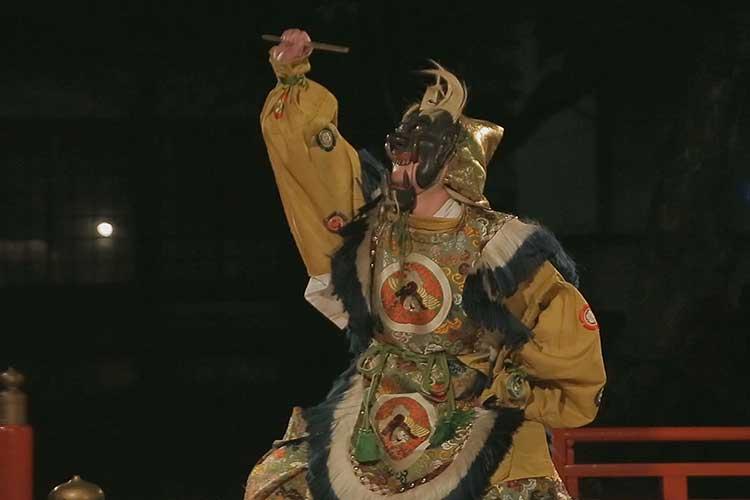 東照宮祭舞楽奉納