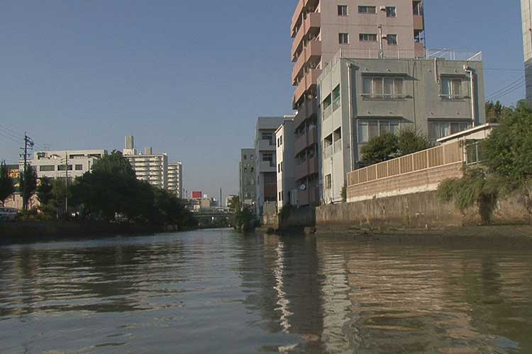 堀川(古渡橋へ)