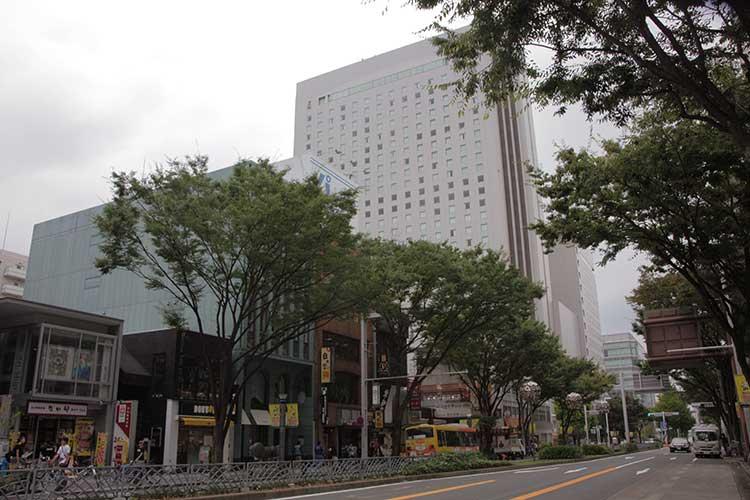 広小路・ヒルトンホテル