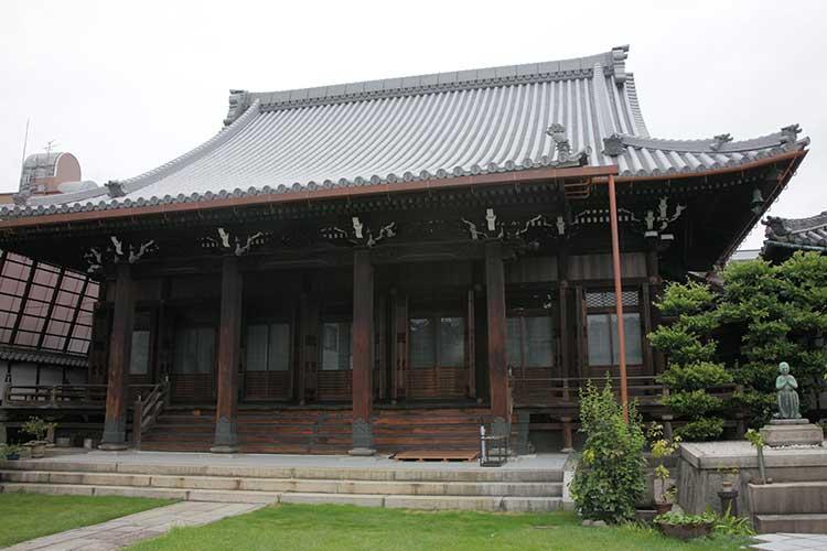 慶栄寺本堂