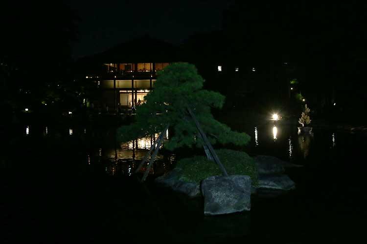 徳川園 「十五夜」観月会