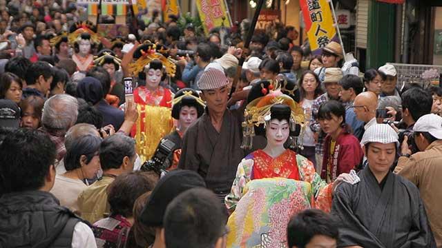 Osu Daido Chonin Matsuri(Osu street townspeople festival)