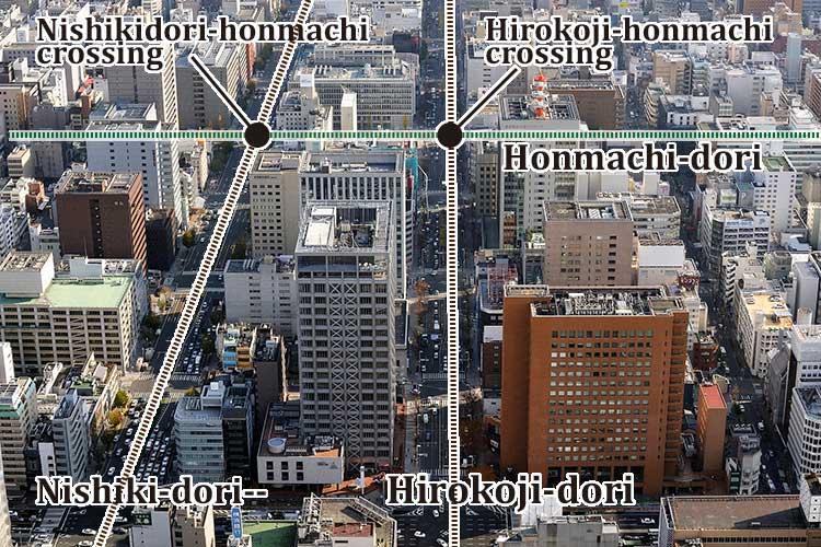 The circumference of the Shirakawa Park