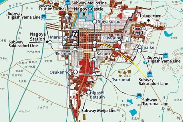 Nagoya Castle Town of the Edo period(1603-1868)