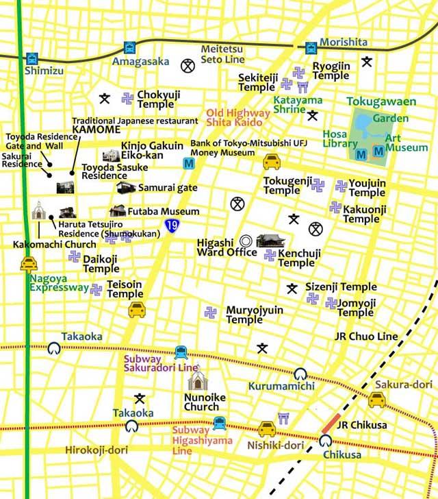 Cultural Path & Tokugawaen(present)