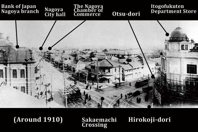 South Otsu-dori st. & Hirokoji st.