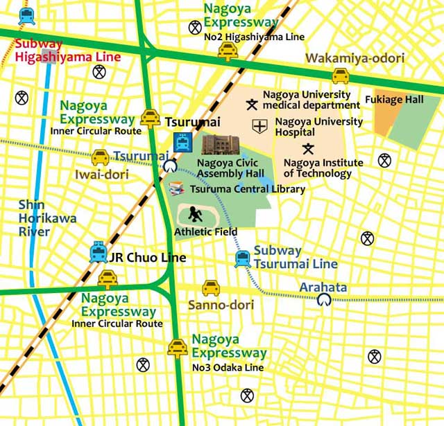 Tsurumai Park(The first park in Nagoya)(present)