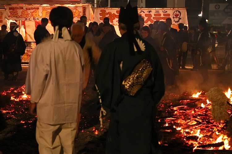 Fire-walking  Religious services
