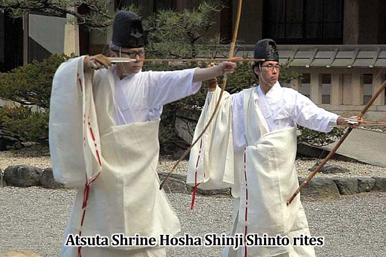 Atsuta Shrine Hosha Shinji Shinto rites