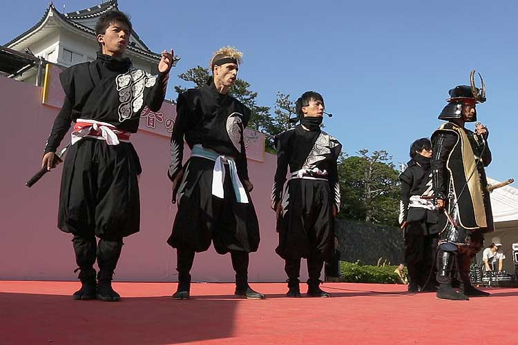 Hattori Hanzo Ninja party