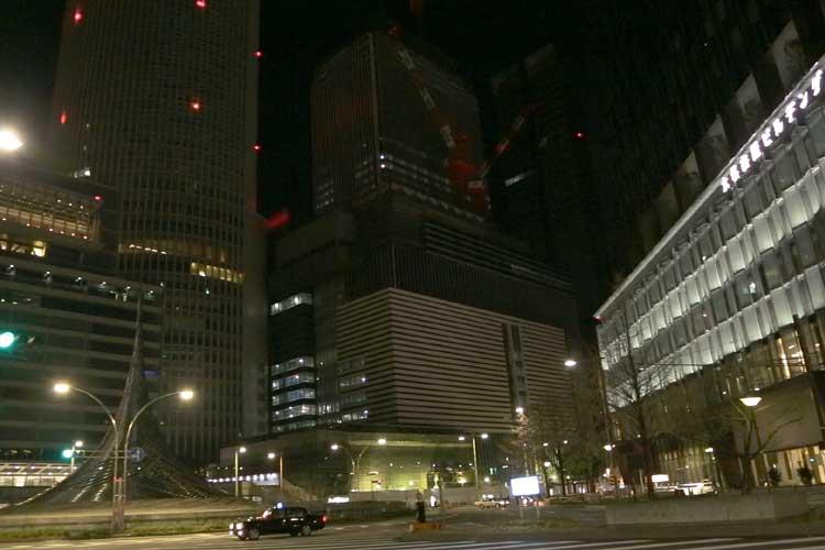 名古屋駅前(2015,12,31)