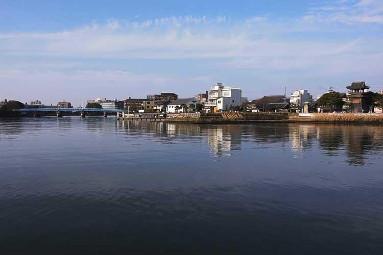 堀川(七里渡し跡)