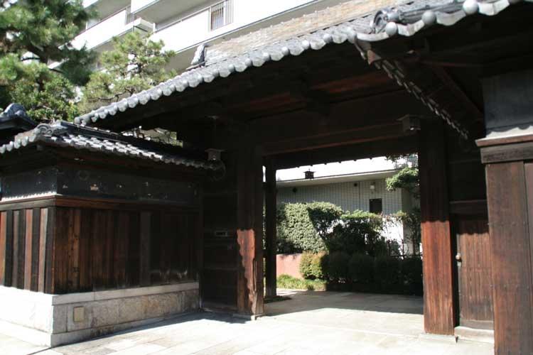 旧豊田佐吉邸門