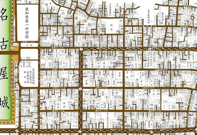 昭和初頭の地図