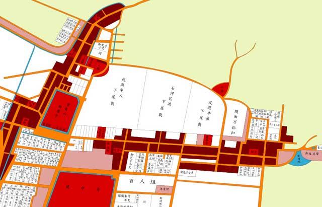 江戸時代の徳川園周辺