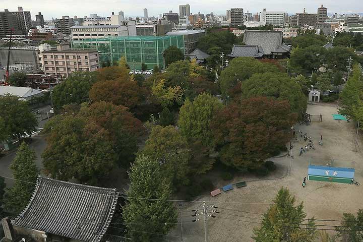 江戸期の建中寺境内