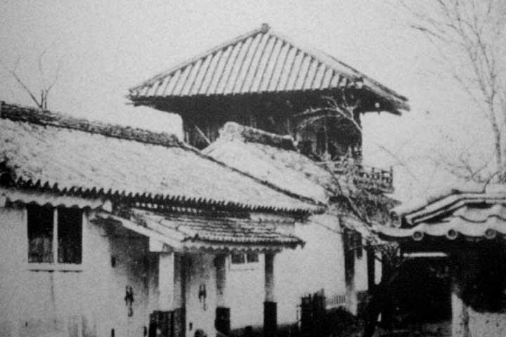 ありし日の御文庫(名古屋城内)