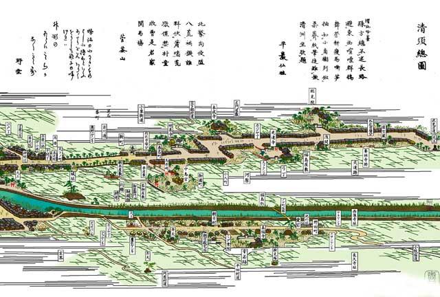 清洲総図左