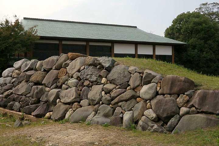 清洲城の石垣