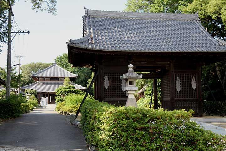 蓮華寺(蜂須賀城跡)