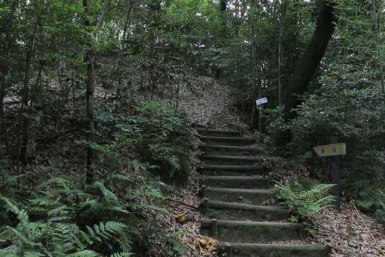 岩崎城櫓台