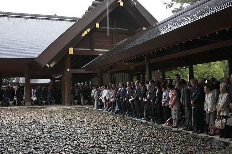Regular festival Shinto ritual