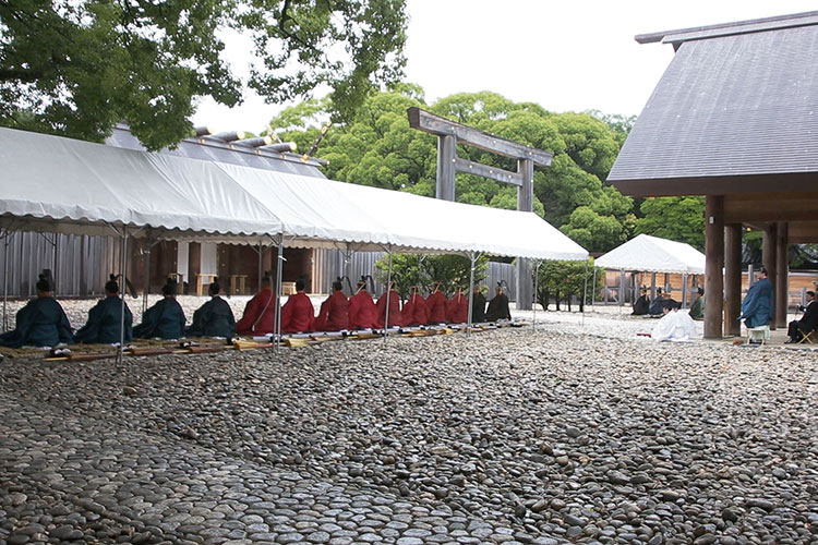 Regular festival Shinto ritual