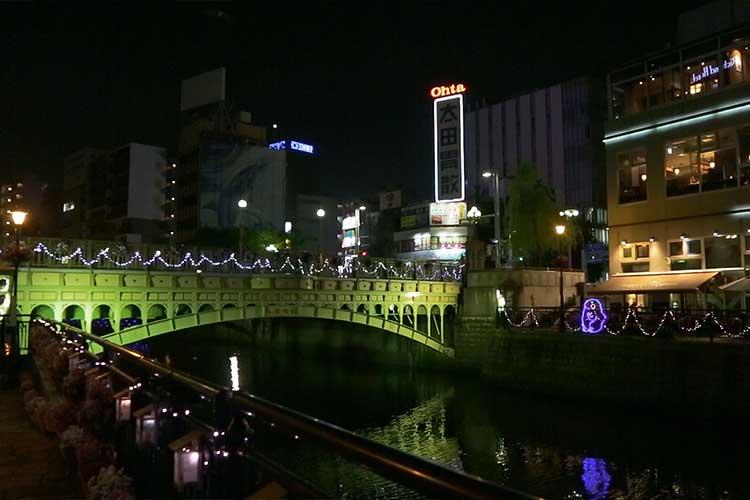 納屋橋夜景