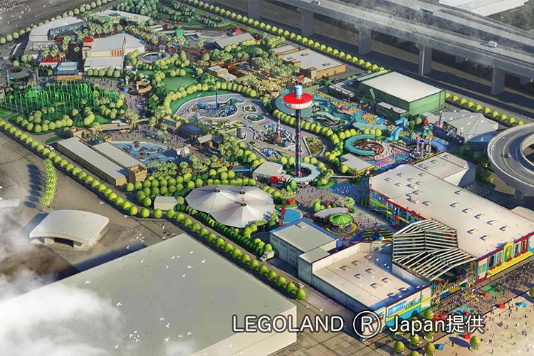 LEGOLAND® Japan完成予想図