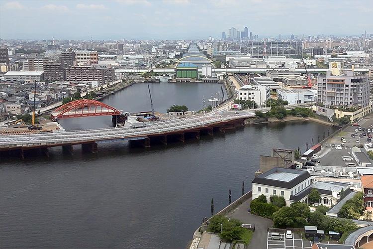 2016年の中川運河