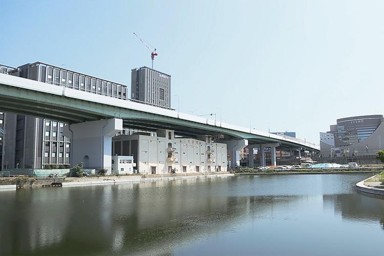 中川運河堀止船だまり