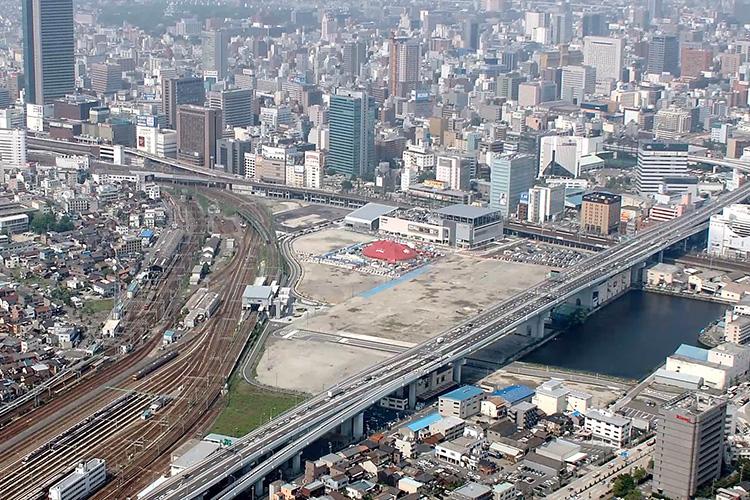 2007頃の笹島貨物駅跡