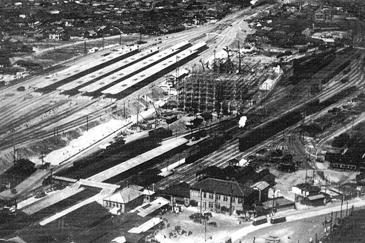 名古屋駅の移転(昭和12年)