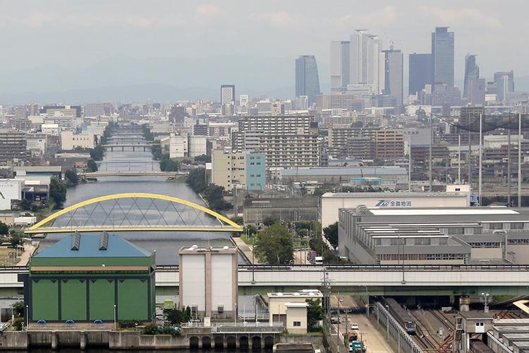 中川運河(2016年)