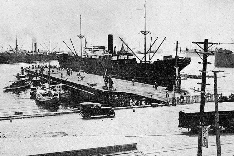 ①名古屋港桟橋