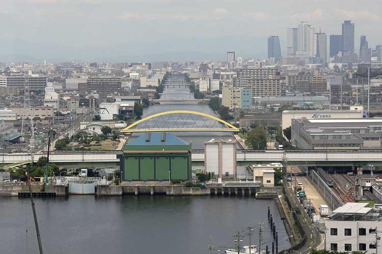 ⑤-2現在の中川運河