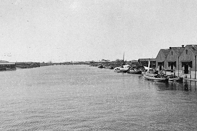 ①中川運河