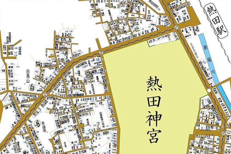 熱田周辺住宅地図