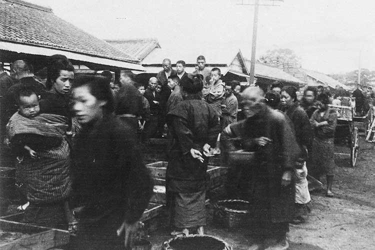 ④熱田魚市場