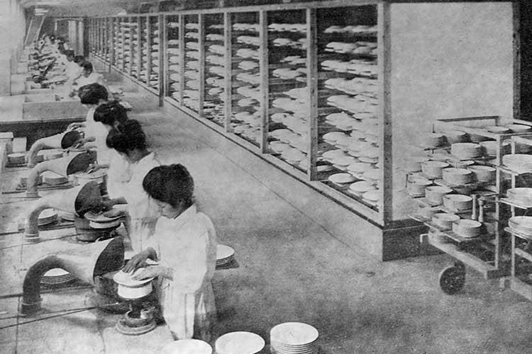 陶器工場0